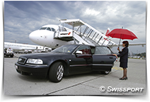 Assistance aux passagers - ©Swissport